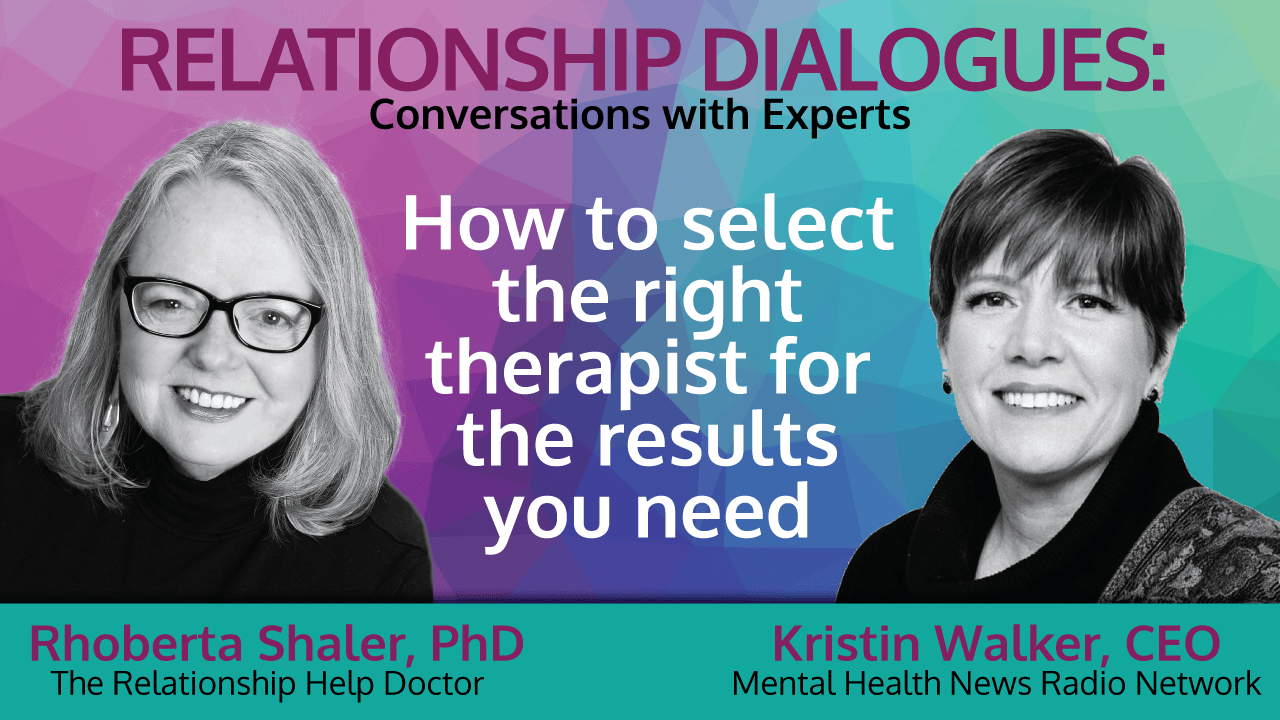 title card: how to select the right therapist for your needs