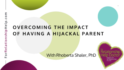 title image - overcoming the impact of a hijackal parent